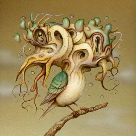 Художник Naoto Hattori Япония -2- Tripping bird