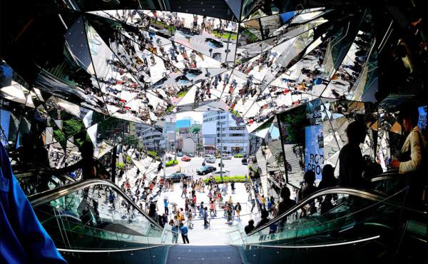 Художник Hiroshi Nakamura Япония Omotesando Entrance