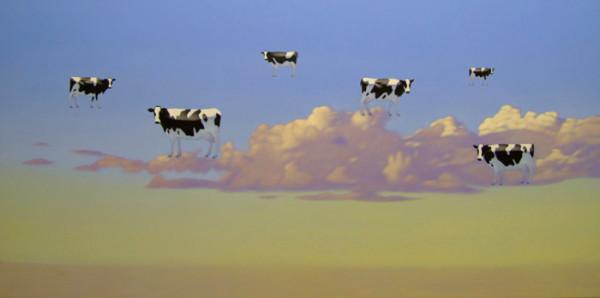 Коровы полетели - by Andrew Baines - Artodyssey