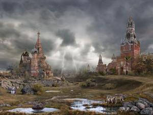 Художник Владимир Манюхин Россия Кремлевская долина - лето-2