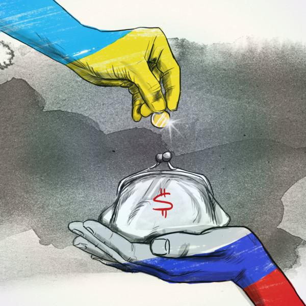 ЕС. Долги Украины за Газ