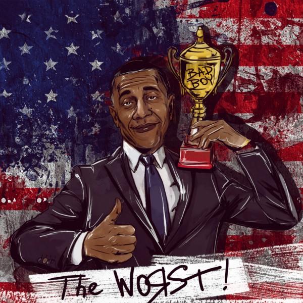 Обама возглавил список самых плохих  президентов США