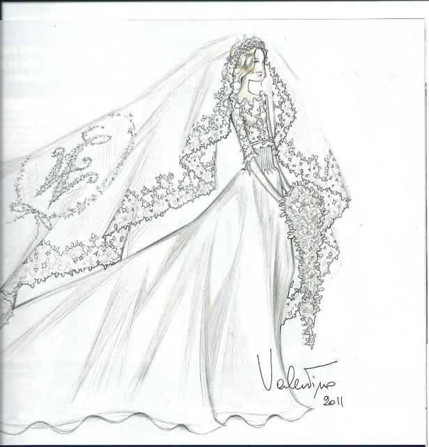 свадебные эскизы: