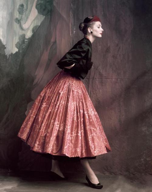 Vintage fashion photography vogue