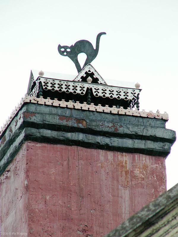 Вязники, дом с гербом и дымником