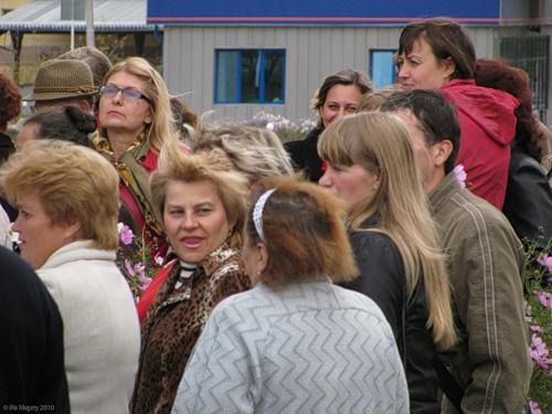 23 сентября 2010, Рославль, открытие мемориальной доски Э.Г. Репину, перед митингом