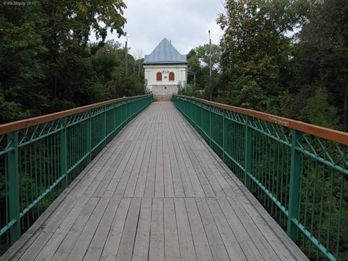 Рославль, Бурцева гора, мостик любви
