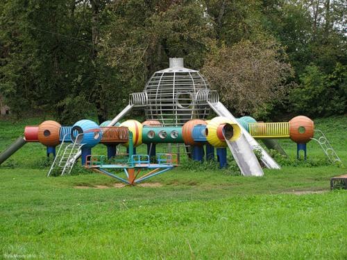 Рославль, Бурцева гора, детская площадка