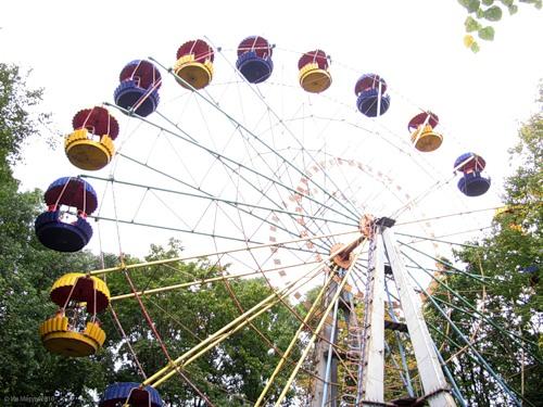 Рославль, парк, чёртово колесо