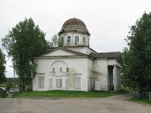 Парфеньево, церковь Ризположения (1848)