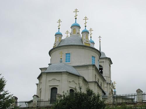 Парфеньево, Воскресенский собор (1790)