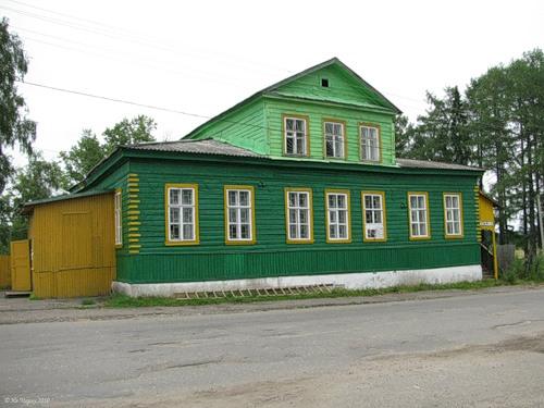 Парфеньево, бывшая посадская управа, с 1908 - высшее начальное училище