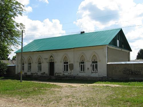 Новоалександровский, здание почтовой станции (1850) на Варшавском шоссе