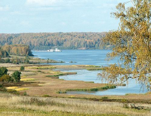Волга у Борщёвки