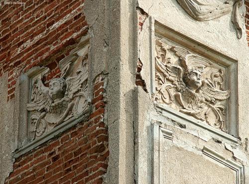 Лепнина. Ангелы. Троицкая церковь в с. Кой (2006).