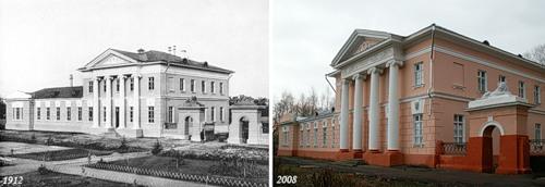 Родильный приют с. Бонячек (1912) - Роддом г. Вичуги (2008)