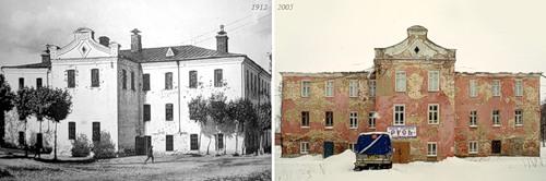 Женская казарма при ф-ке Бонячек (1912) - Здание г. Вичуги (2005)