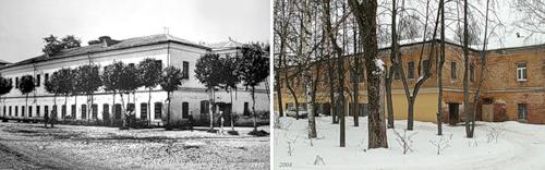 Помещение кухни и столовой для рабочих при ф-ке с. Бонячек (1912) - Здание г. Вичуги (2008)