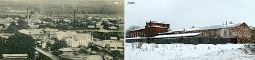 """Фабрика """"Товарищества Тезинской мануфактуры"""" (1912) - Производственные здания г. Вичуги (2008)"""