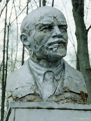 Ленин в Погорелке