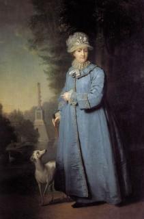 На фоне Чесменской колонны, 1794