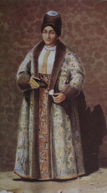 Вельможна пані (полковниця); за сучасним портретом
