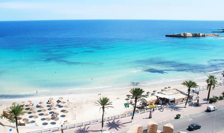Тунис, море, пляж