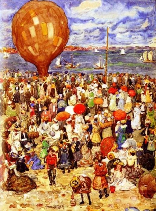 s-949fbce45299705eff61f90452c1cbb2_Prendergast_Maurice_B_The_Balloon