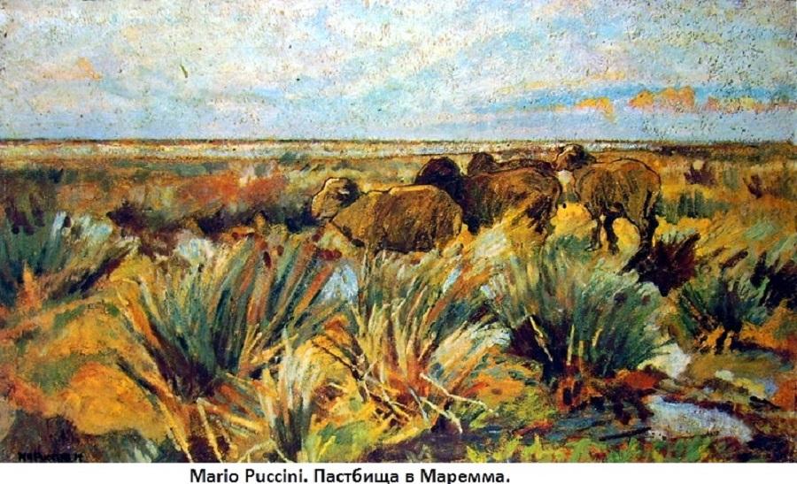 Mario Puccini - Pascolo in Maremma