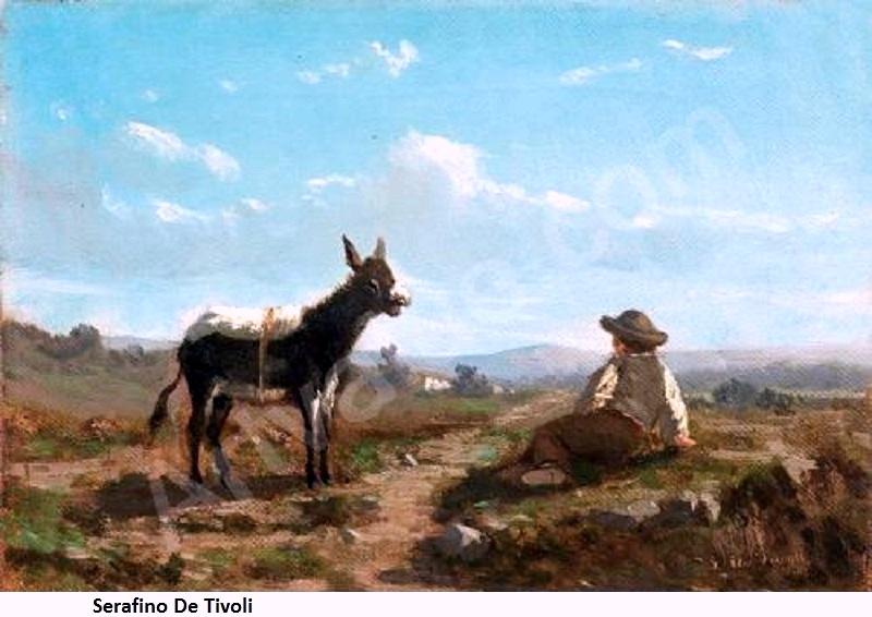 tivoli-serafino-da-de-1826-189-contadinello-e-ciuchino-3271057