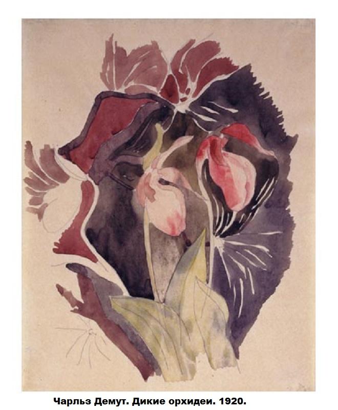 CharlesDemuth-Wild-Orchids-1920