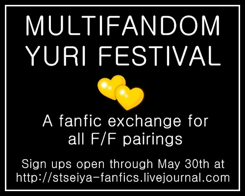 Multifandom Yuri Festival: Sign ups open