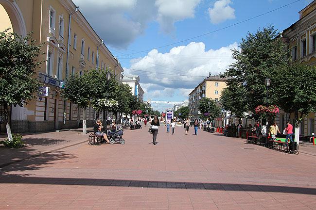 улица Трёхсвятская