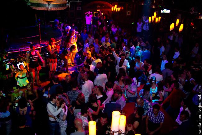 дискотека в клубе москвы