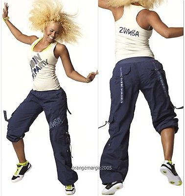 ZUMBA-2PcSET-Cargo-Pants-JOIN-THE-PARTY