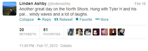 Linden Ashby (lindenashby) on Twitter