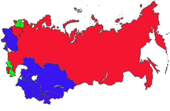Карта СССР2