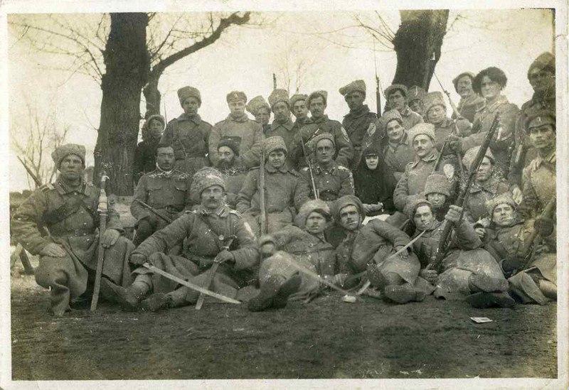 Корниловцы. Ростов, янв. 1918