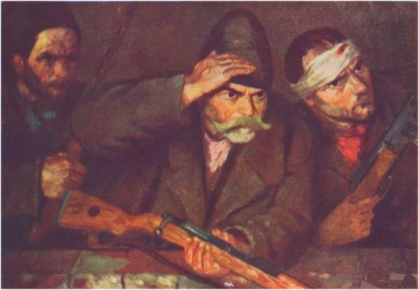 Партизаны. 1951. Йене Бенедек. Венгрия