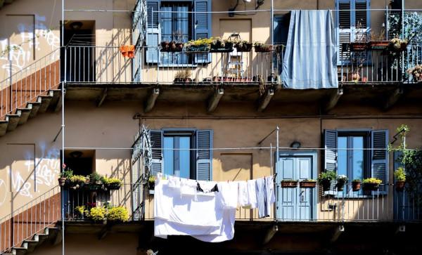Дома галерейного типа в Милане