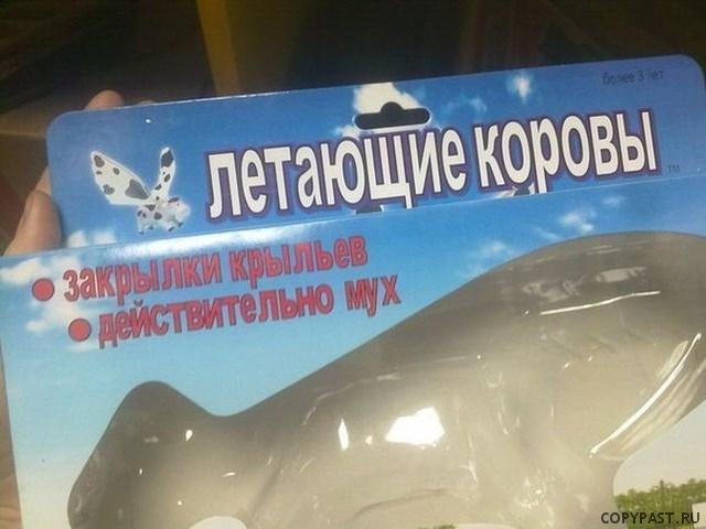 Летающие коровы, смешной перевод