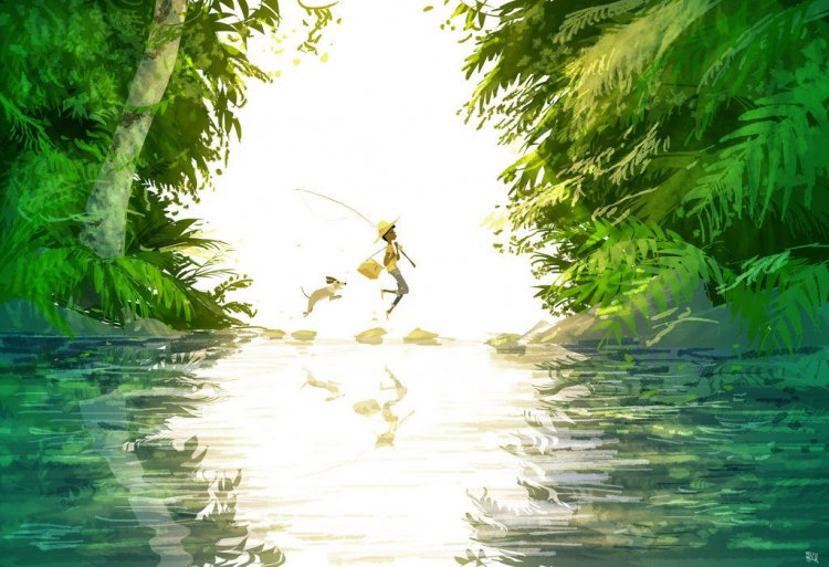 6090_lifes_magical_moments_captured_in_cartoon_art