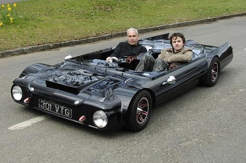 Flatmobile - самый плоский автомобиль в мире