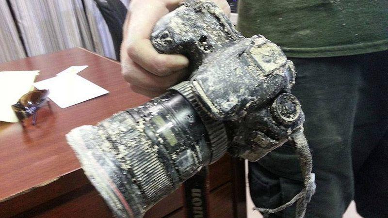 Съеденный аллигатором фотоаппарат вернули хозяину через 8 месяцев