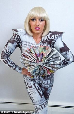 Поклонница потратила кучу денег на то, чтобы стать Леди Гагой