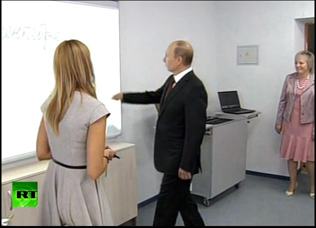 Путин рисует лучше меня...