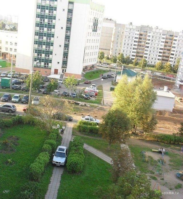 Хамская парковка последней стадии