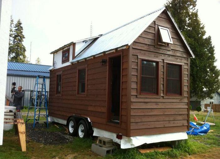 Маленький компактный домик