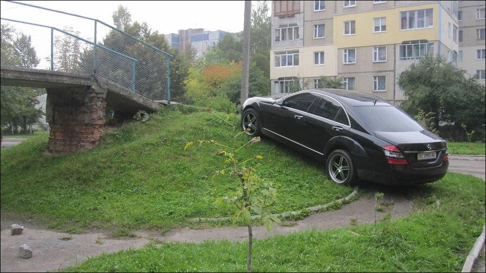 Паркуюсь, как