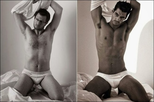 Если бы в рекламе нижнего белья снимались обычные мужчины